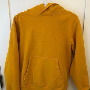 Aritzia Yellow Hoodie